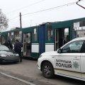 У Житомирі на трамвайній зупинці Lanos збив пішохода