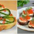 Бутерброди до новорічного столу, які стануть смачною та гарною закускою