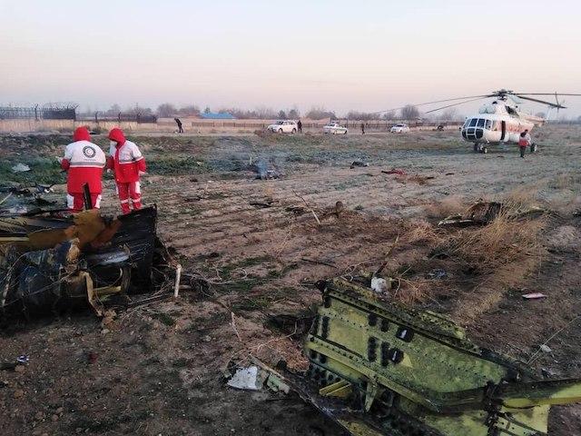 Киев официально подтвердил гибель всех пассажиров самолета МАУ в Иране