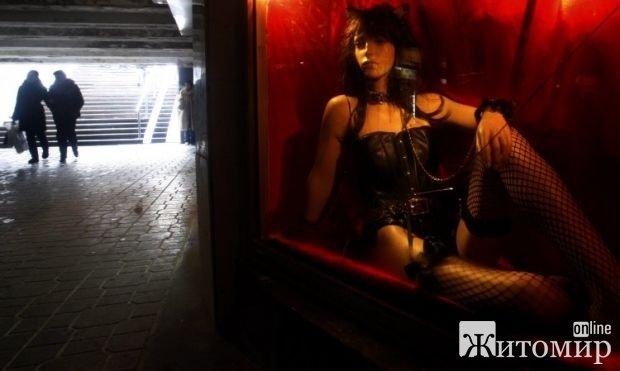 В Украине Житомирская область оказалась наименее развитой проституцией