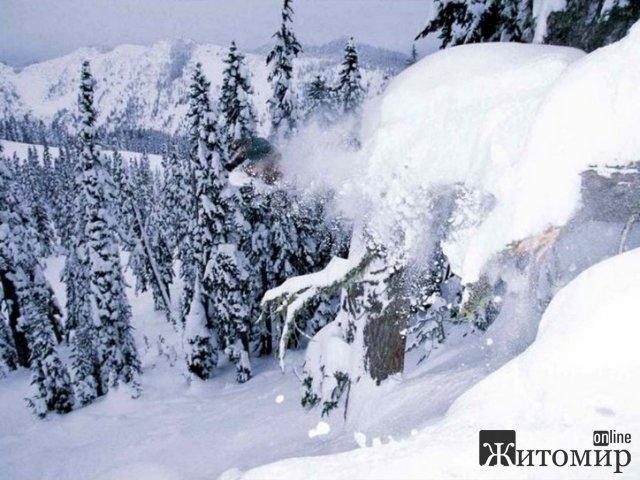 В Україні оголосили відкритим сніголавинний сезон