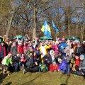 Понад сотня житомирян зустрічали Новий рік пробіжкою