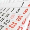 В 2020 году каждый третий день будет выходным