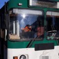 На Перемоги у Житомирі загорівся тролейбус, пасажирів евакуювали
