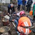 Житомирська область: на пожежі в приватному житловому будинку вогнеборці врятували двох чоловіків