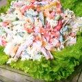 Готуємо соковитий і дуже смачний салатик — «Хвилинка»