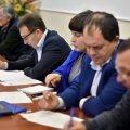 У Житомирі чиновники та онук Максима Рильського обговорили заходи до 125-річчя поета