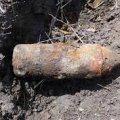 Житомирська область: піротехніки ДСНС області знищили три артилерійські снаряди часів минулих війн