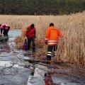 Житомирська область: фахівці ДСНС врятували на льоду трьох осіб, які пішли рибалити