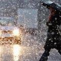 Завтра у Житомирі очікують мокрий сніг, який перейде у дощ