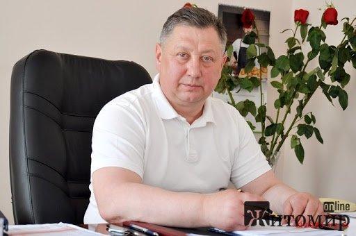 Сьогодні день народження святкує начальник управління охорони здоров'я Житомирської ОДА Микола Сусл ...