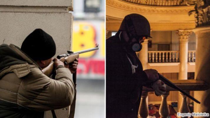 Кто начал бойню на Майдане.