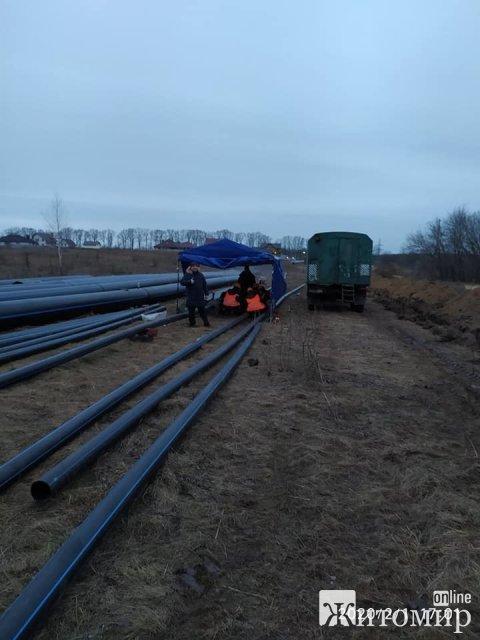 В Житомире строим новый водоканал, - Сергей Сухомлин. ФОТО