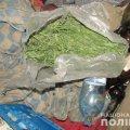 Коростишівські поліцейські затримали чоловіка за крадіжку та зберігання наркотиків