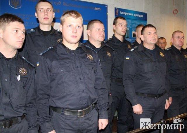 За місяць співробітники Служби судової охорони попередили ще більше ста спроб пройти до судів Житомира із пістолетами, ножами та газовими балончиками