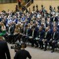Житомиряни впізнали серед делегатів від «слуг» лише Євгена Яремчука. ФОТО