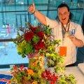 Квіткова композиція уродженки Житомирської області здобула золоту медаль кулінарної олімпіади в Штутгарті