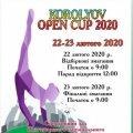 У Житомирі відбудеться турнір зі спортивної аеробіки