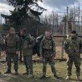 Житомирский пограничники задержали четырех граждан Украины в зоне отчуждения Чернобыльской АЭС
