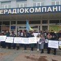 """У Житомирі відбувся мітинг у рамках Всеукраїнської акції """"Інформаційна година"""". ФОТО"""