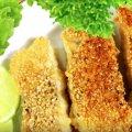 Рибне філе в кунжуті: простий і швидкий рецепт смачної страви
