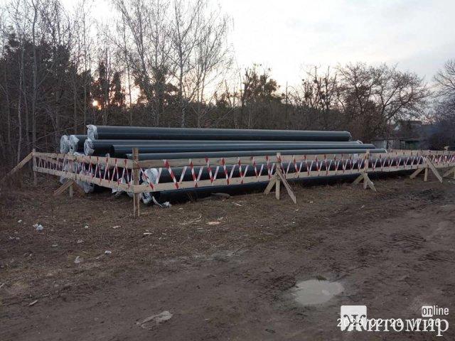 Підрядна організація провела гідралівтичні випробування новопрокладегого трубопроводу, - житомирводоканал