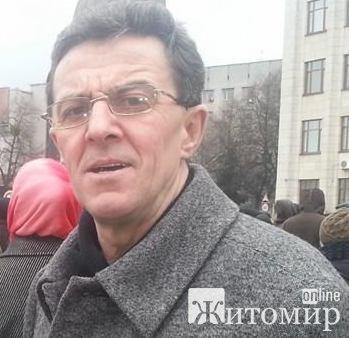 У Житомирі сьогодні святкує День народження Віктор Радчук