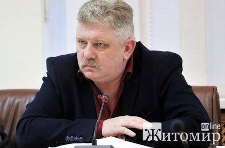 Начальник управління житлового господарства Житомирської міськради, якого ловили на хабарі, показав дохід за рік