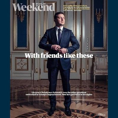 Президент с обложки: что писали о Зеленском мировые СМИ