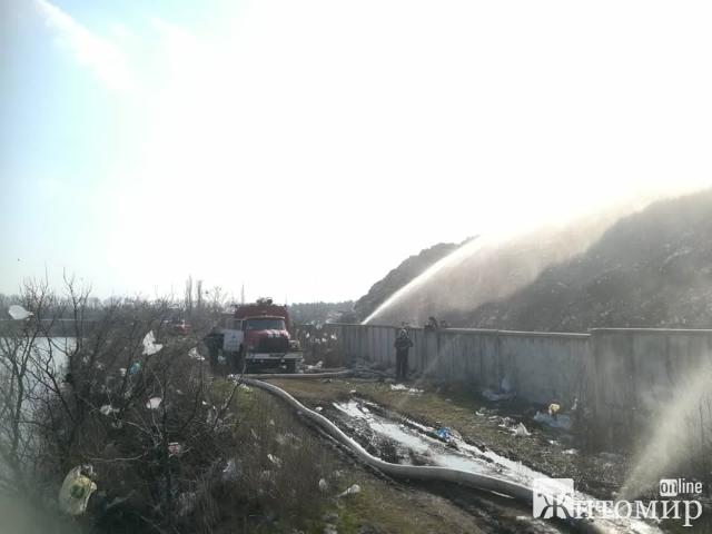 Екологічна катастрофа на Крошні через горіння сміттєзвалища! ФОТО