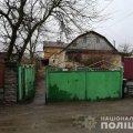 У Коростишеві у дворі будинку поліцейські виявили труп. ФОТО