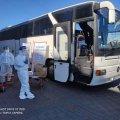 Как в Киеве со спецпоездов встречают житомирян. ФОТО
