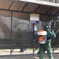 У Житомирі дезінфікуватимуть вулиці та зупинки громадського транспорту