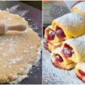 Пісочне печиво з начинкою. Простий та смачний рецепт приготування.