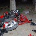 На околиці Житомира мотоцикл в'їхав у стовп: 28-річний водій помер у лікарні