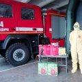 Житомирська область: рятувальники отримали спецзасоби для роботи по запобіганню поширення коронавірусної інфекції COVID-19