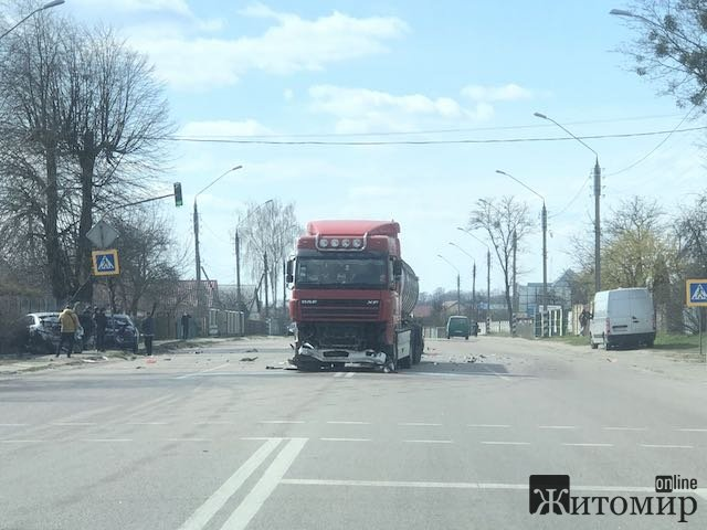 Страшна аварія в Тетерівці. ФОТО
