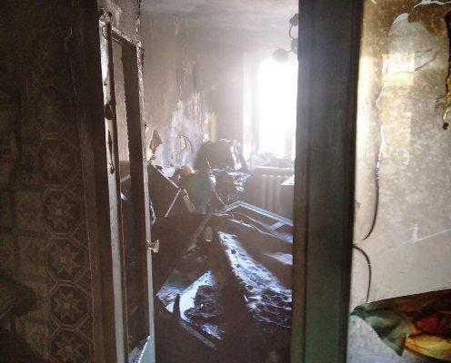 Житомирська область: під час ліквідації пожежі в оселі врятовано чоловіка