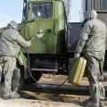 Військові житомирської ДШВ шиють марлеві маски. ФОТО