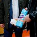 Для Житомирщини одна з компаній передала 200 літрів дезінфікуючого засобу