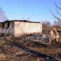 В Житомирской области поджигатели травы случайно сожгли два дома, сарай и 90 гектаров сухостоя