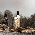 В Житомирской области сгорело целое село: детали о ликвидации лесных пожаров. ФОТО
