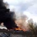 У Житомирі знову горить сміттєзвалище! Репортаж з місця події! ВІДЕО
