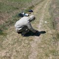 На околиці Бердичева місцевий житель виявив розсипану ртуть. ФОТО