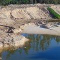 Колишній депутат Житомирської міської ради організував незаконний видобуток піску, завдавши збитків державі на понад 200 млн грн