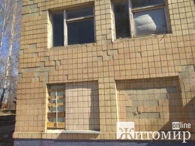 Виставлено на аукціон будівлю з промислової зони Житомира