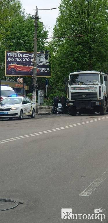 ДТП в Житомирі по вулиці Великій Бердичівській.ФОТО