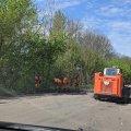 Розпочали ремонтувати дорогу з Романовки до Чуднова. ФОТО