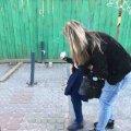 У центрі Житомира травмувалася маленька дівчинка. ФОТО