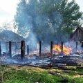 На Житомирщині діти спалили сарай